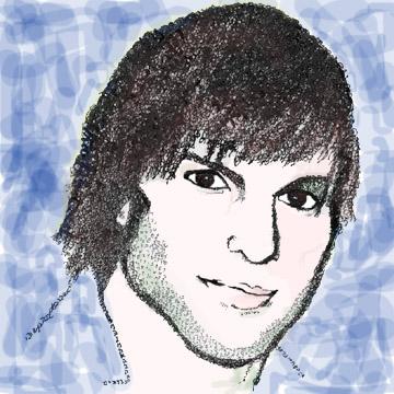 Ashton Kutcher Essence Portrait Aleph