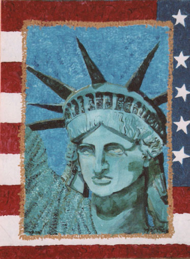 Lady Liberty by Judy Rey Wasserman